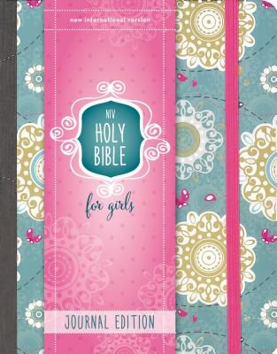 niv holy bible for girls journal edition hardcover turquoise