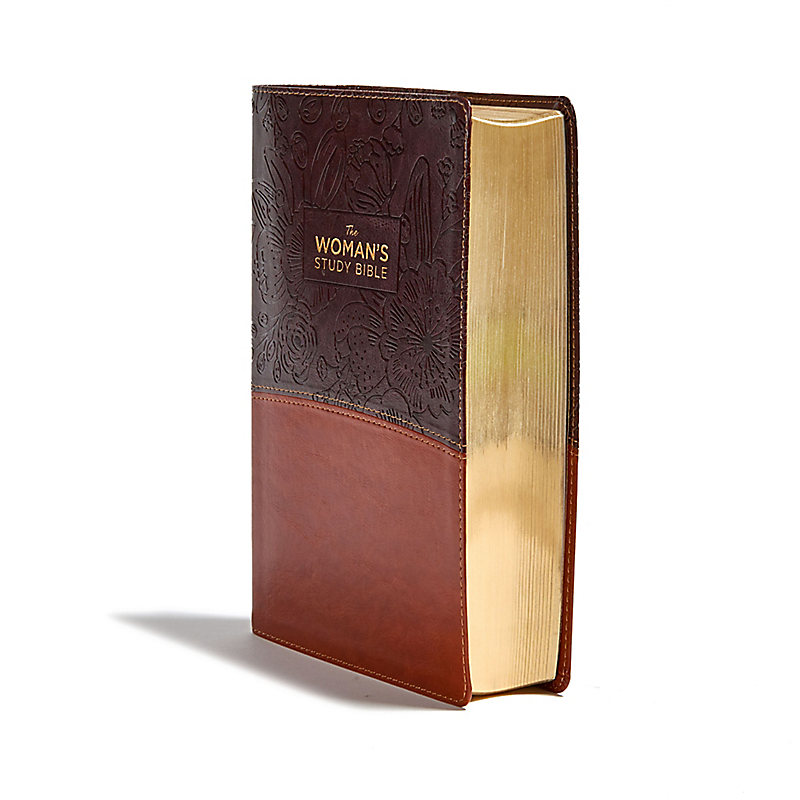 The NKJV, Woman's Study Bible, Fully Revised, Imitation Leather, Brown/Burgundy, Full-Color