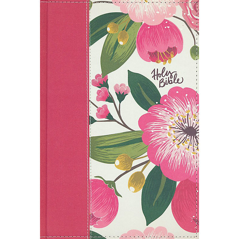 The NKJV, Woman's Study Bible, Fully Revised, Cloth Over Board, Pink Floral