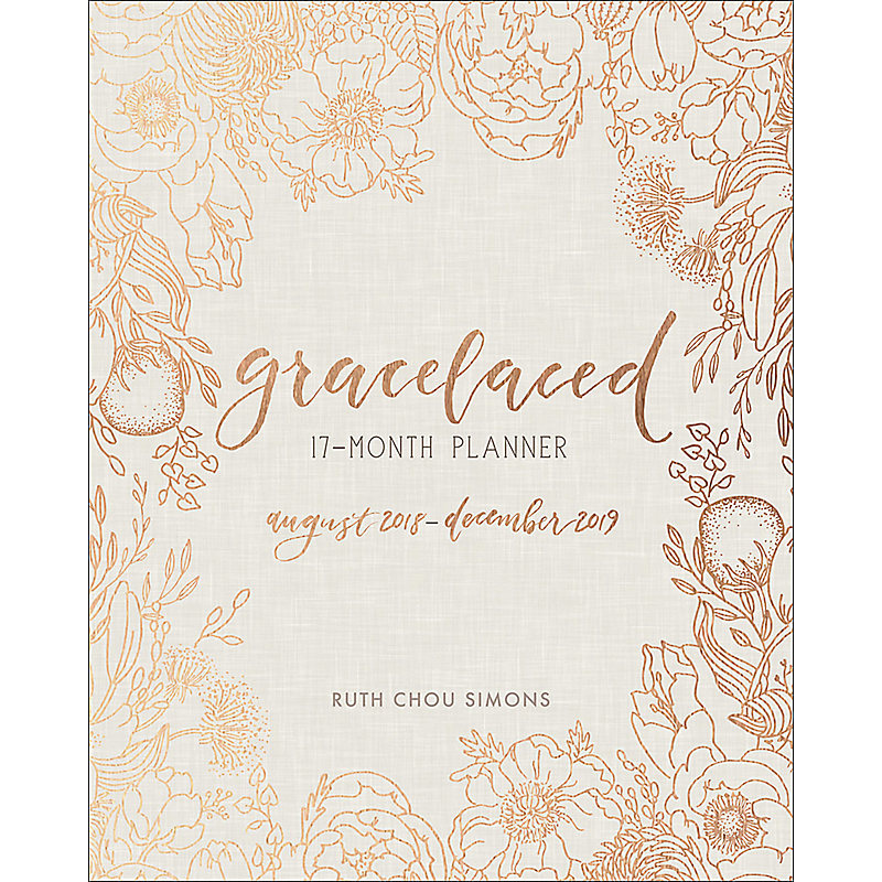 GraceLaced 17-Month Planner