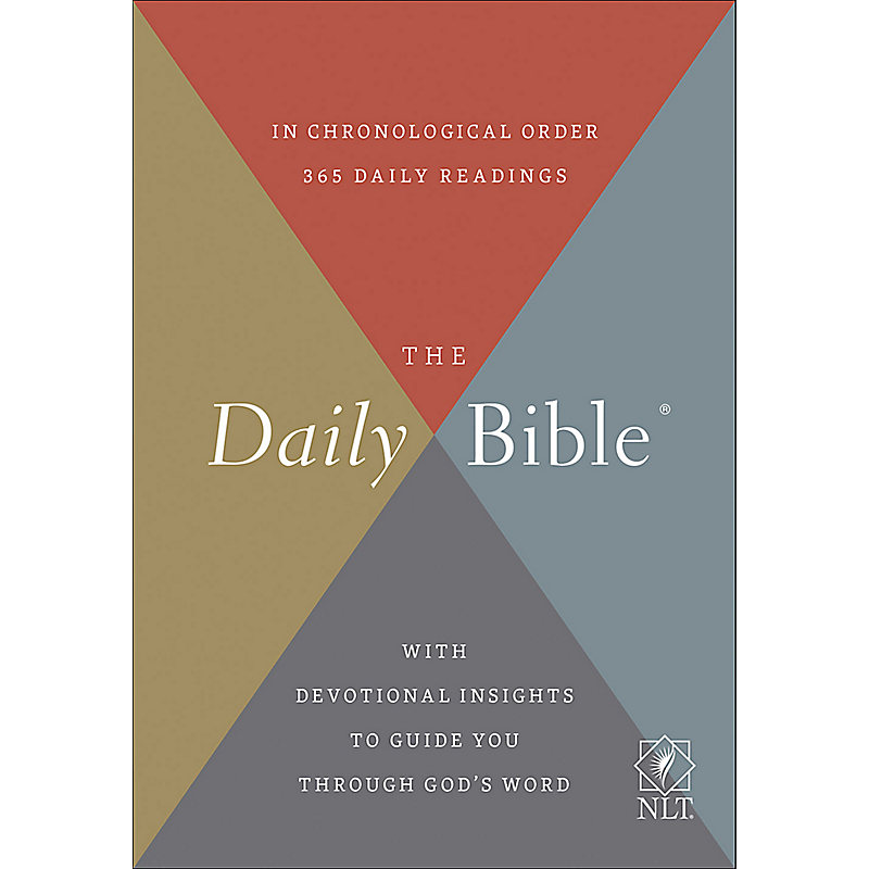 The Daily Bible, Hardback, NLT