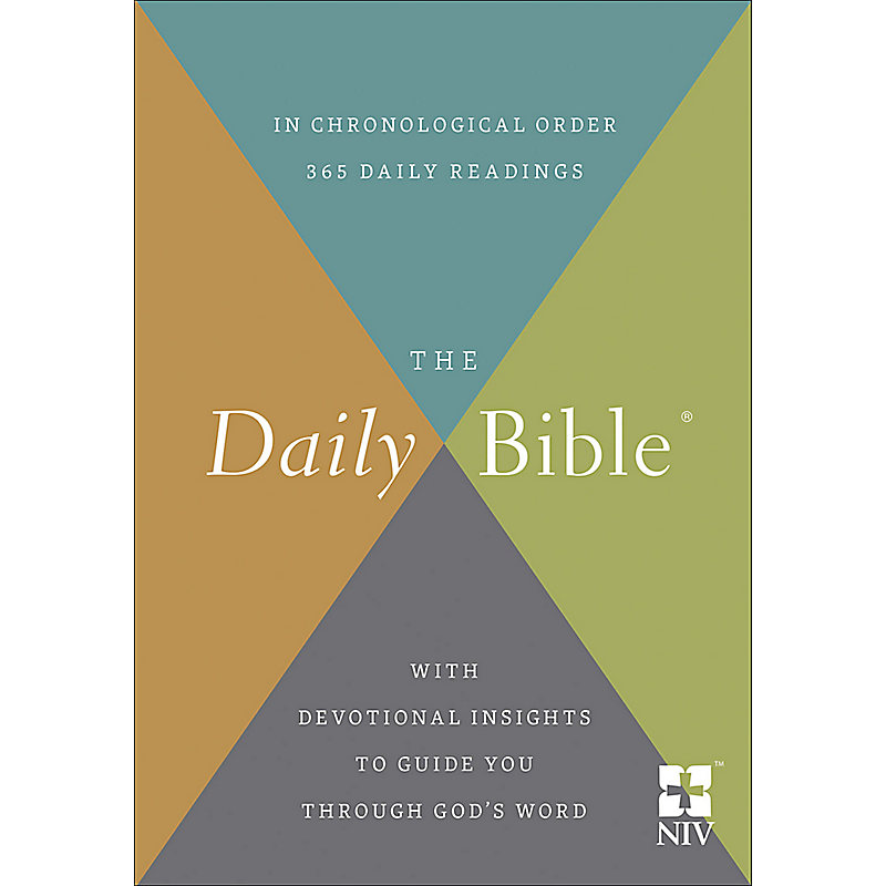 The Daily Bible NIV, Hardcover