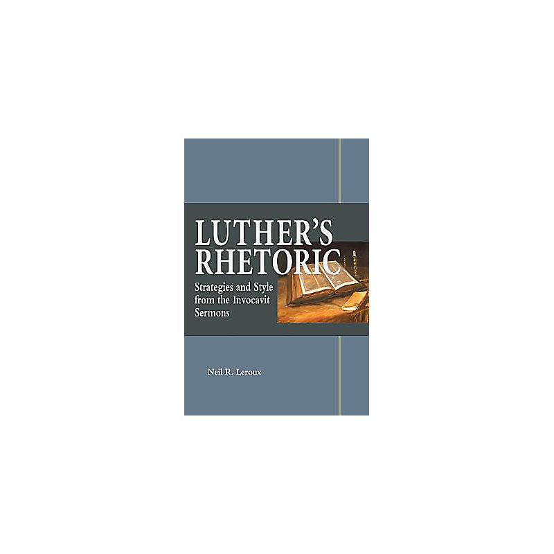 Luther's Rhetoric