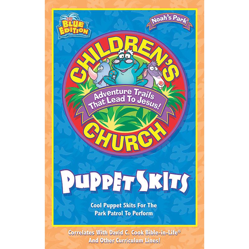 Noah's Park Children's Church Puppet Skits, Blue Edition
