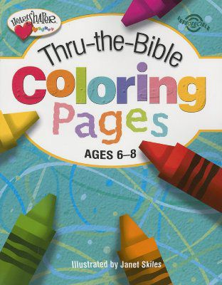 Thru The Bible Coloring Pages Ages