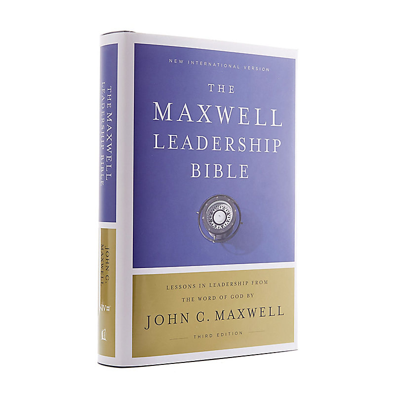 NIV, Maxwell Leadership Bible, 3rd Edition, Hardcover, Comfort Print