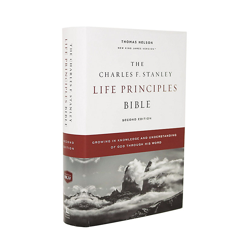 NKJV Charles F. Stanley Life Principles Bible, 2nd Edition, HB