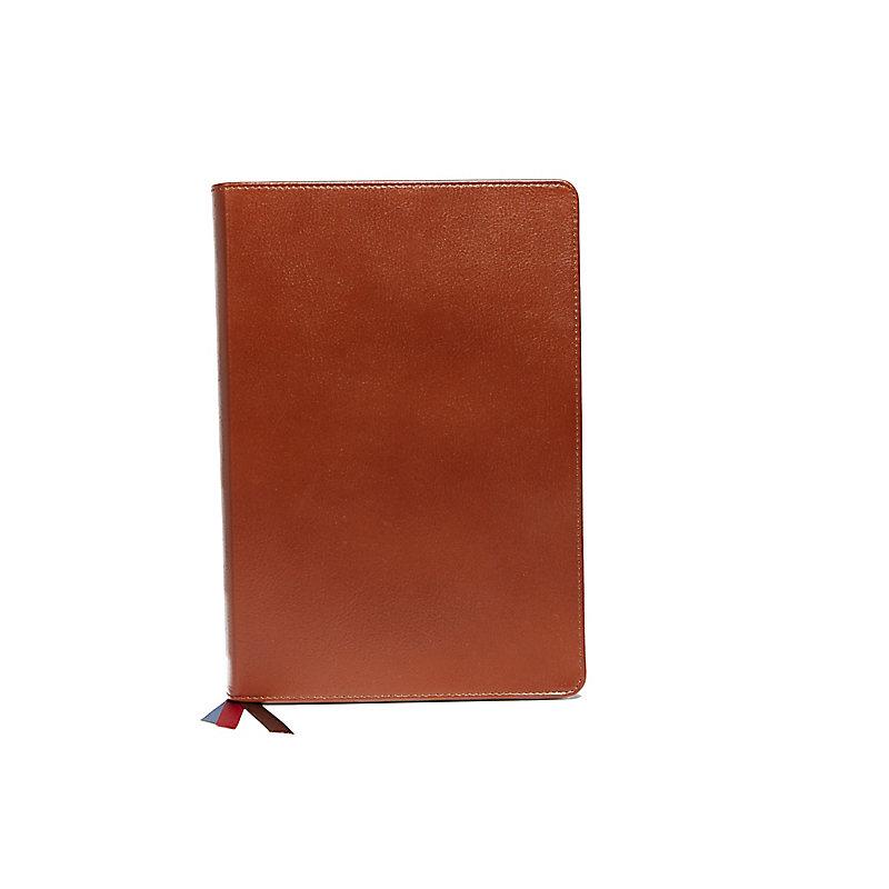 NIV, Charles F. Stanley Life Principles Bible, 2nd Edition, Genuine Leather, Brown, Comfort Print