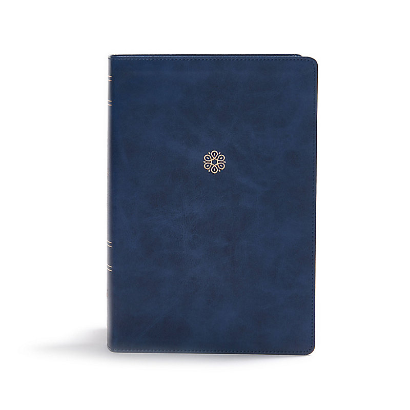 NKJV, Woman's Study Bible, Leathersoft, Blue, Full-Color