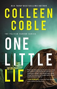 Book Cover One Little Lie by Collen Coble