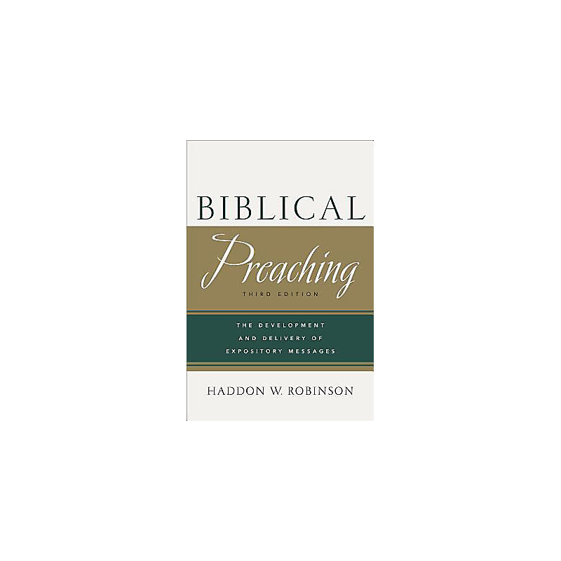 Biblical Preaching