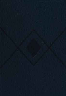 CSB Baker Illustrated Study Bible Navy, Diamond Design LeatherTouch