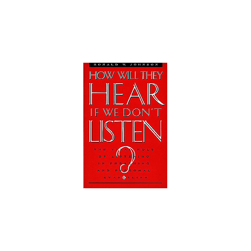 How Will They Hear If We Don't Listen?
