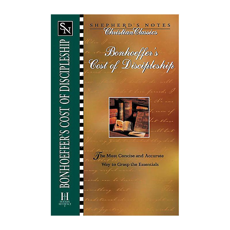 Bonhoeffer's the Cost of Discipleship