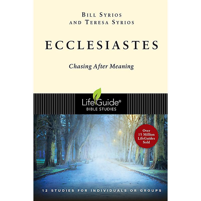 LifeGuide Bible Study: Ecclesiastes