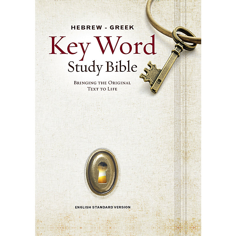 Hebrew-Greek Key Word Study Bible-ESV