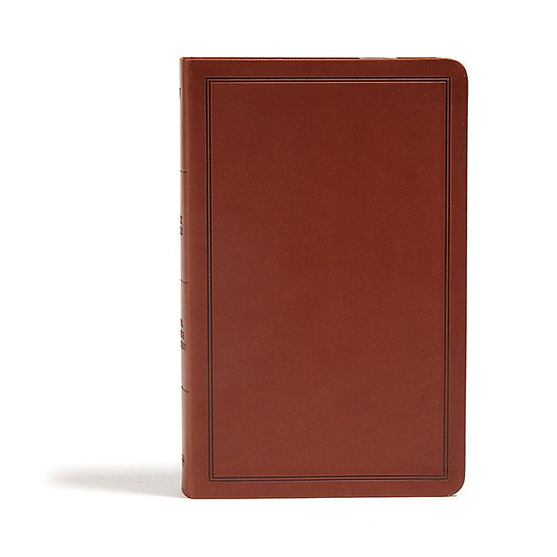 KJV Deluxe Gift Bible, Brown LeatherTouch