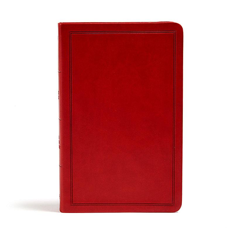KJV Deluxe Gift Bible, Burgundy LeatherTouch