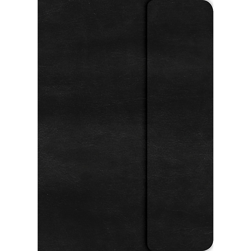 KJV Large Print Compact Reference Bible, Black LeatherTouch with Magnetic Flap