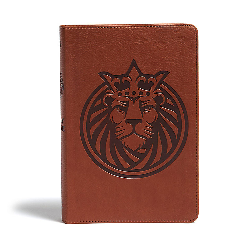 KJV Kids Bible, Lion LeatherTouch