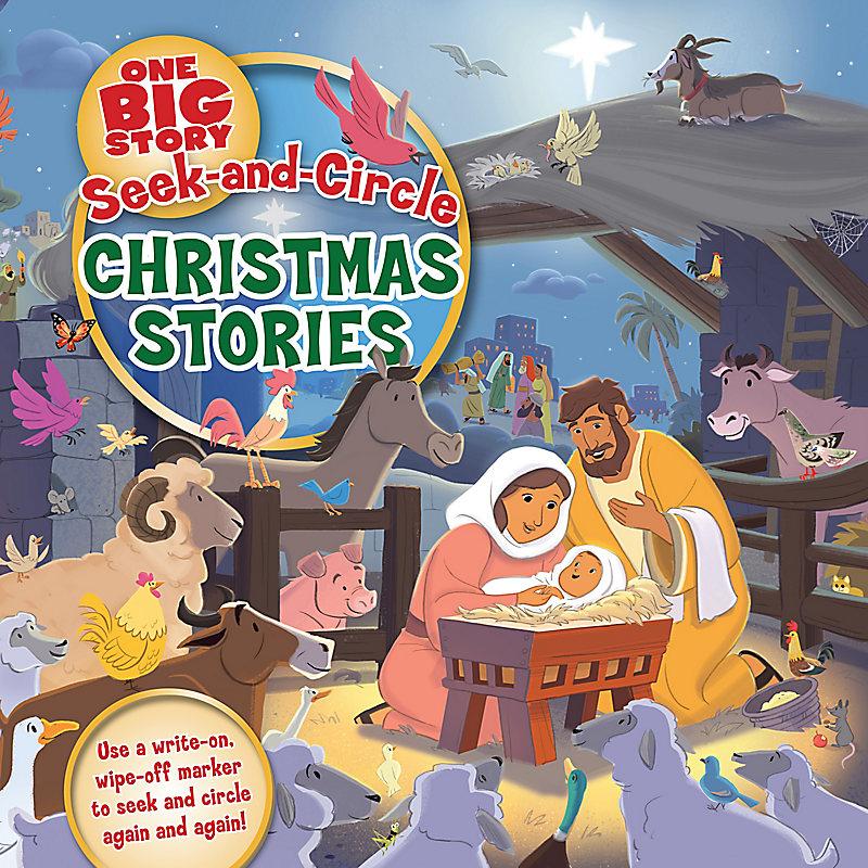 Seek-and-Circle Christmas Stories
