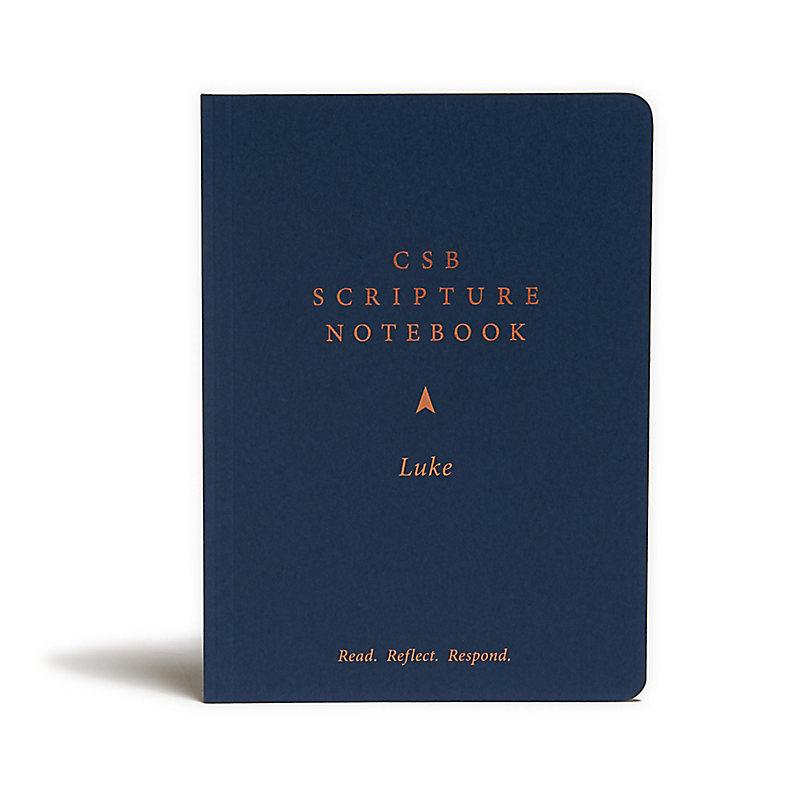 CSB Scripture Notebook, Luke