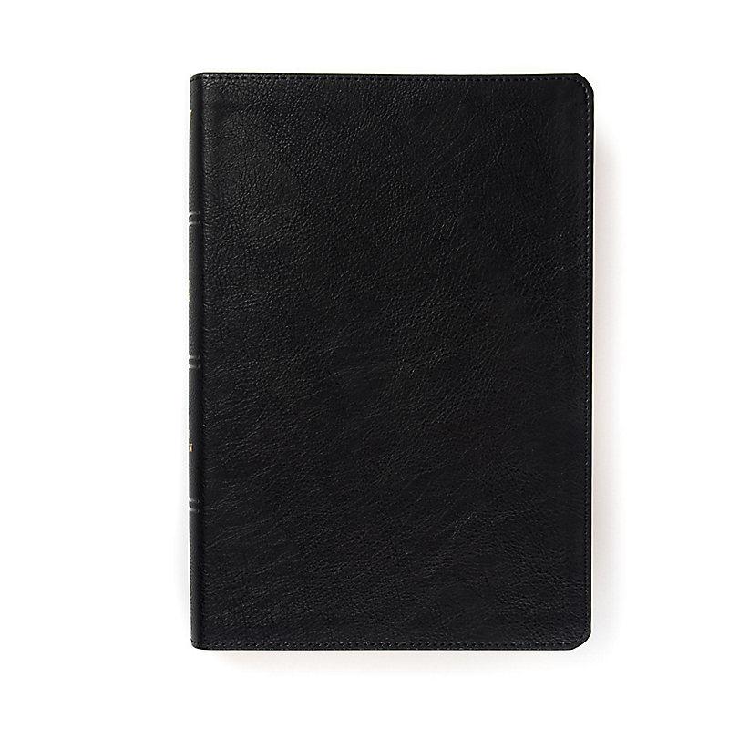 KJV Pastor's Bible, Black LeatherTouch