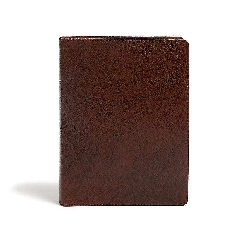 KJV Study Bible, Full-Color, Brown Bonded Leather