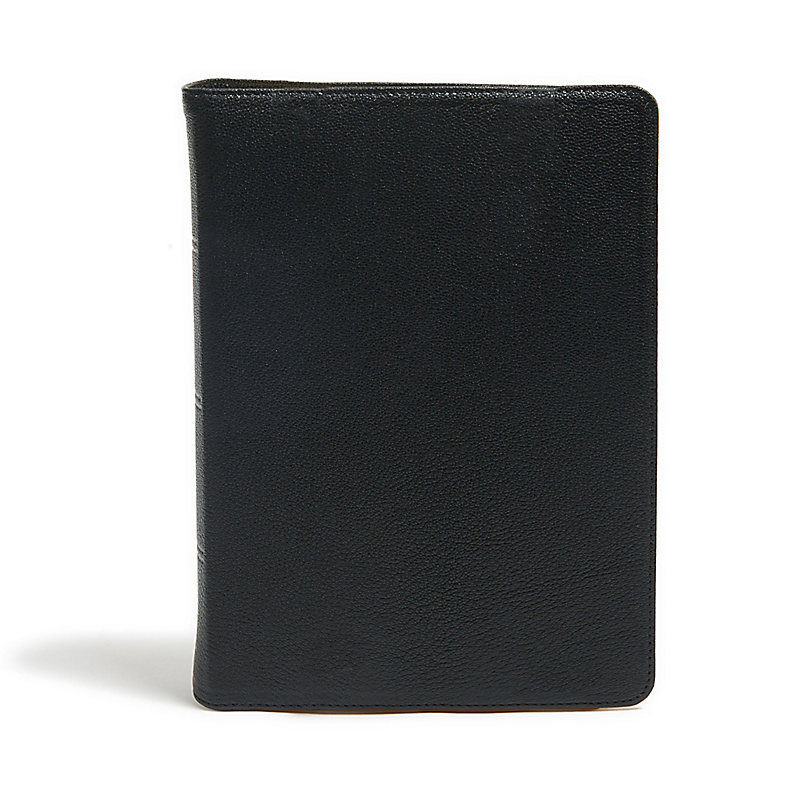 KJV Study Bible, Full-Color, Black Premium Leather, Indexed