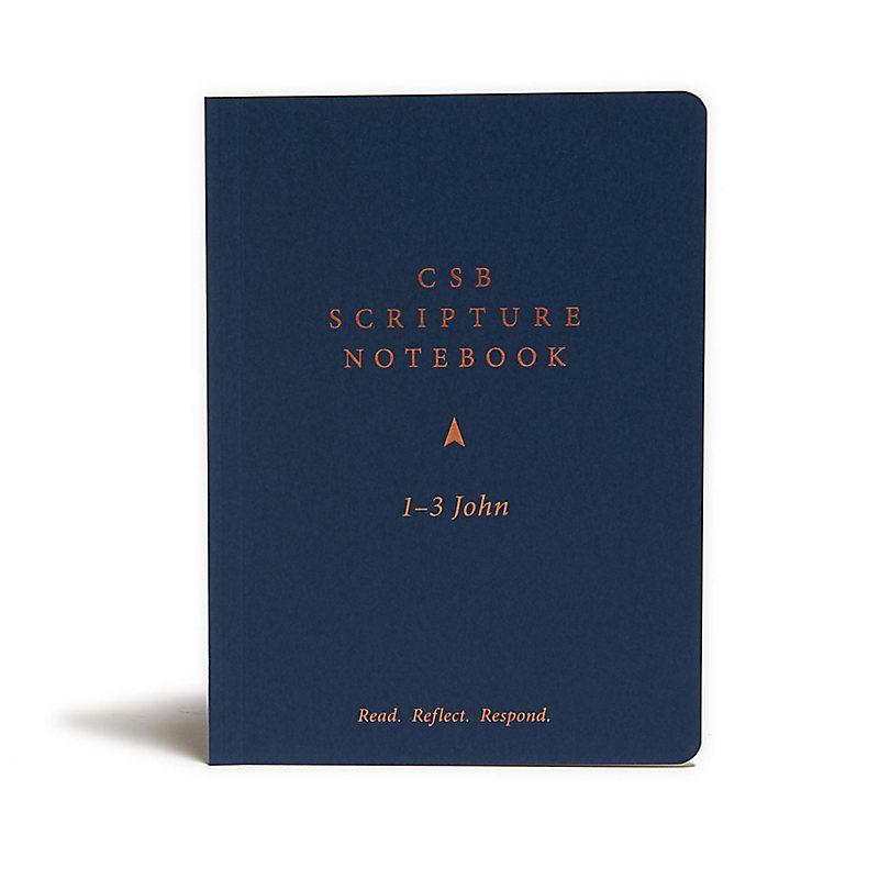 CSB Scripture Notebook, 1-3 John