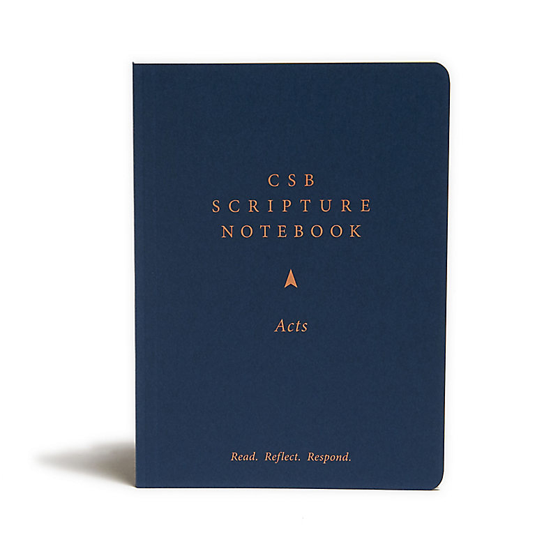 CSB Scripture Notebook, Acts