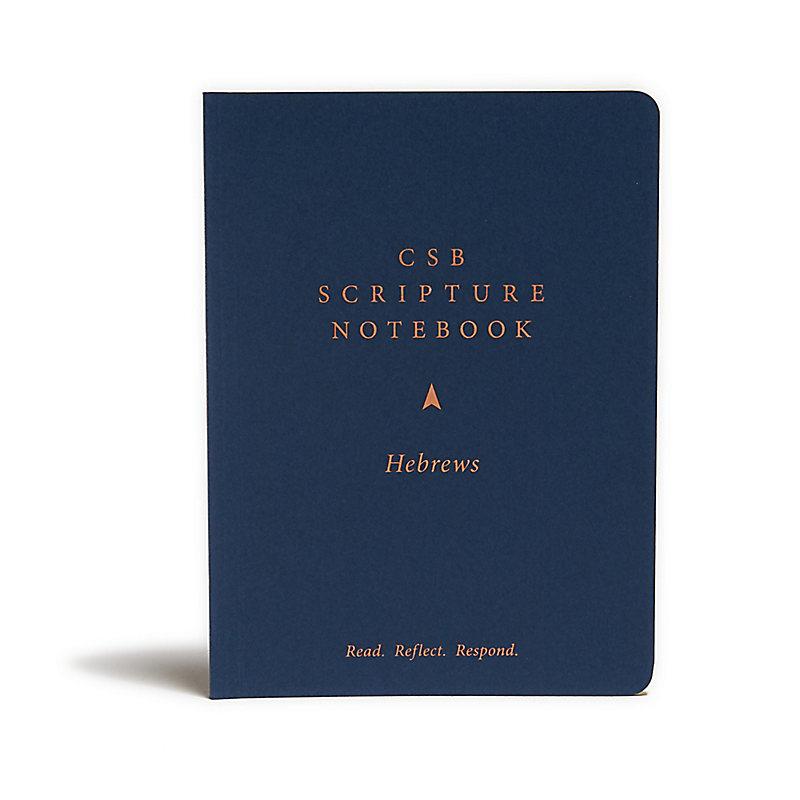 CSB Scripture Notebook, Hebrews