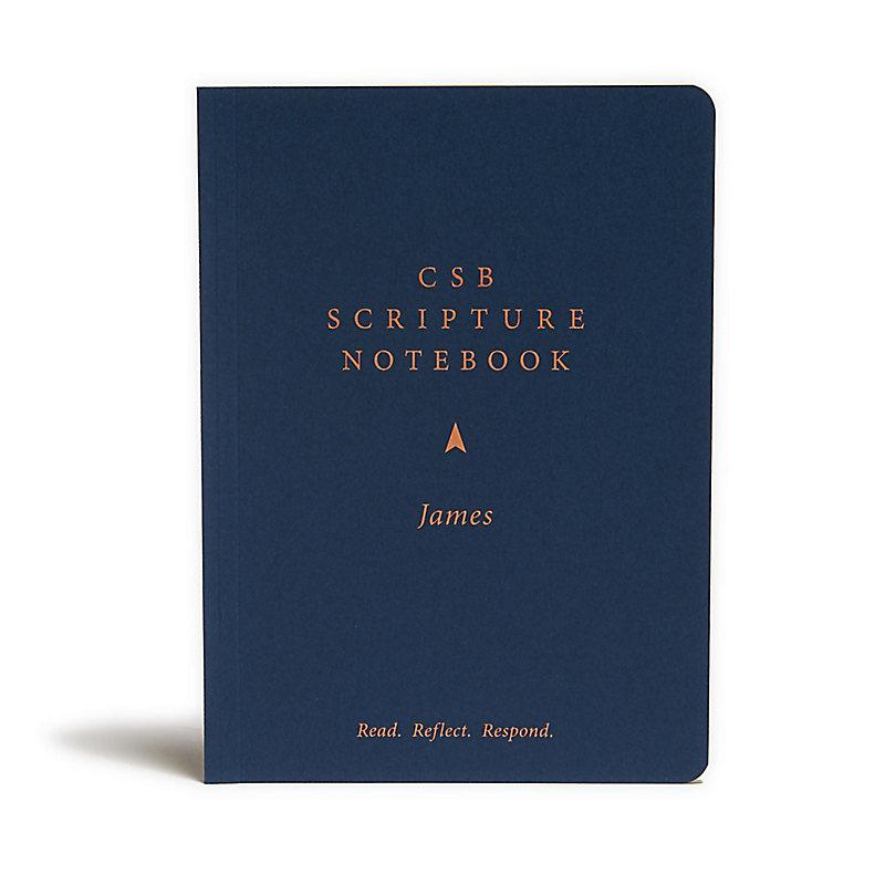 CSB Scripture Notebook, James