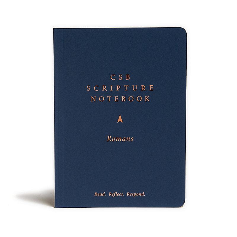 CSB Scripture Notebook, Romans