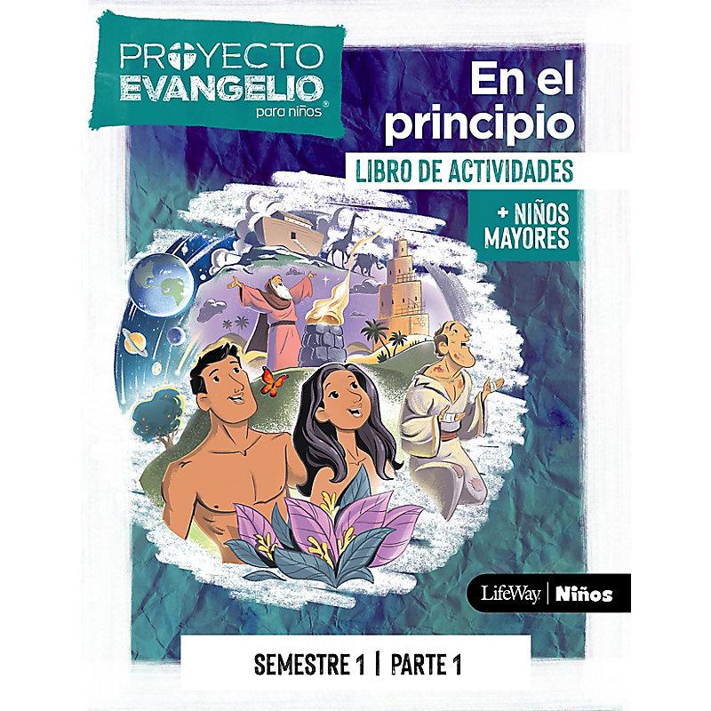 El Proyecto Evangelio para niños, semestre 1 - Actividades niños mayores, parte 1