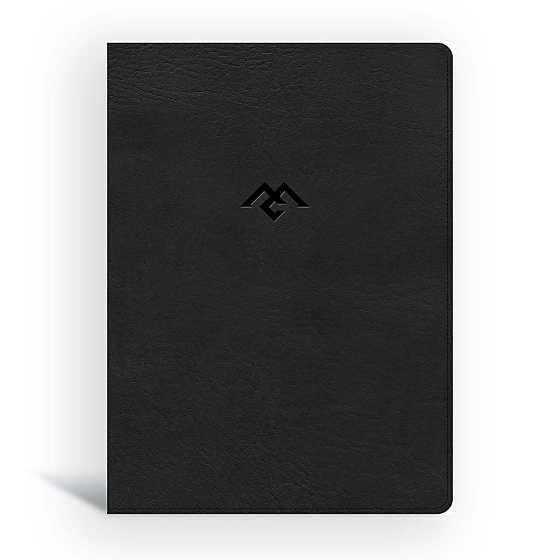 CSB Men of Character Bible, Black LeatherTouch