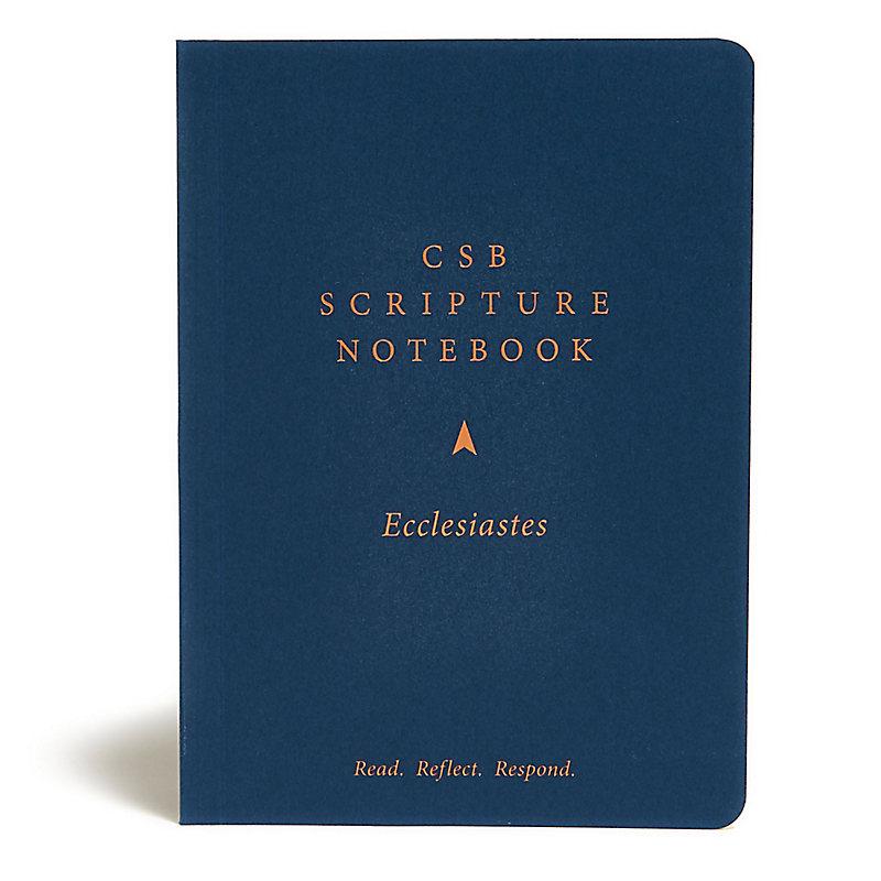 CSB Scripture Notebook, Ecclesiastes