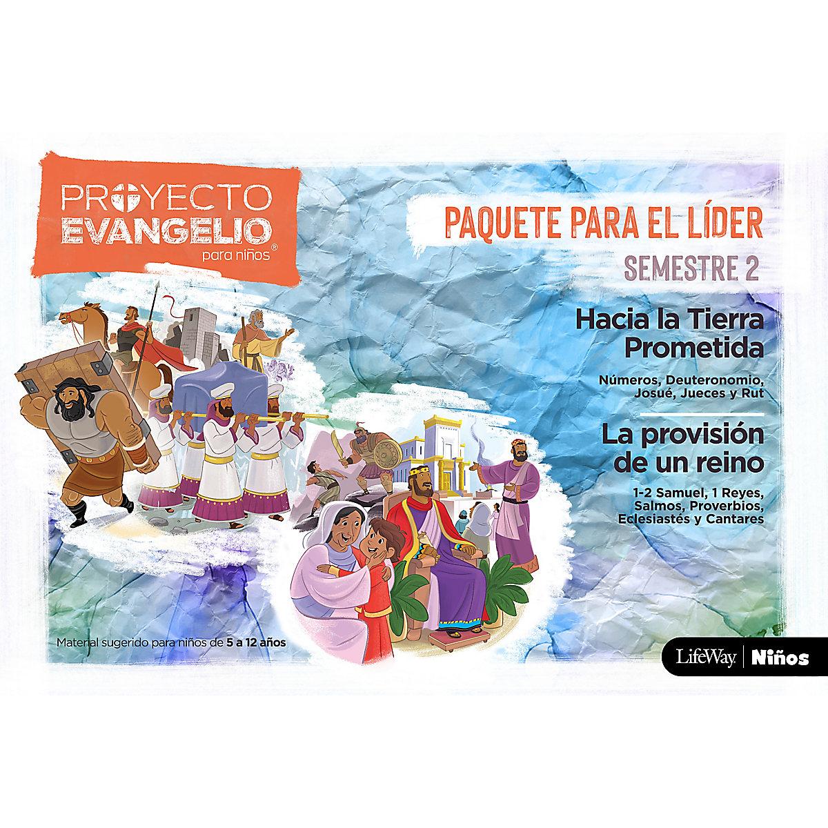 El Proyecto Evangelio para niños Semestre 2-Paquete para el líder