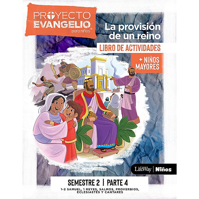 El Proyecto Evangelio para niños semestre 2 - Actividades niños mayores, parte 4