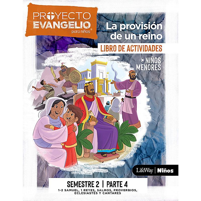 El Proyecto Evangelio para niños semestre 2 - Actividades niños menores, parte 4