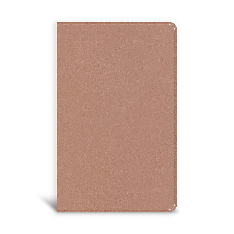 CSB On-The-Go Bible, Personal Size, Rose Gold LeatherTouch