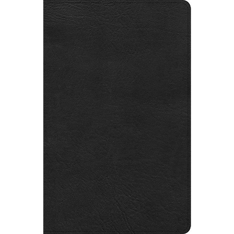 KJV Ultrathin Bible, Black LeatherTouch