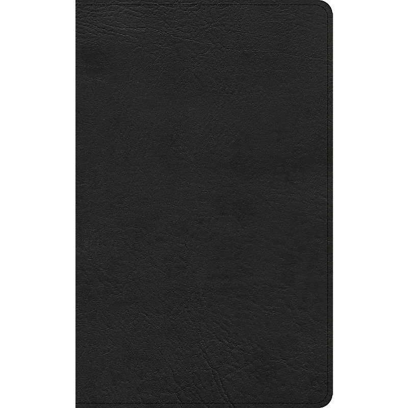 KJV Ultrathin Bible, Black LeatherTouch, Indexed