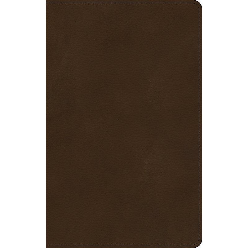 KJV Ultrathin Bible, Brown LeatherTouch