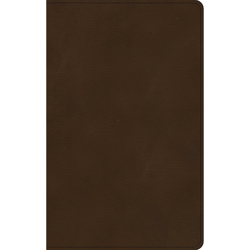 KJV Ultrathin Bible, Brown LeatherTouch, Indexed