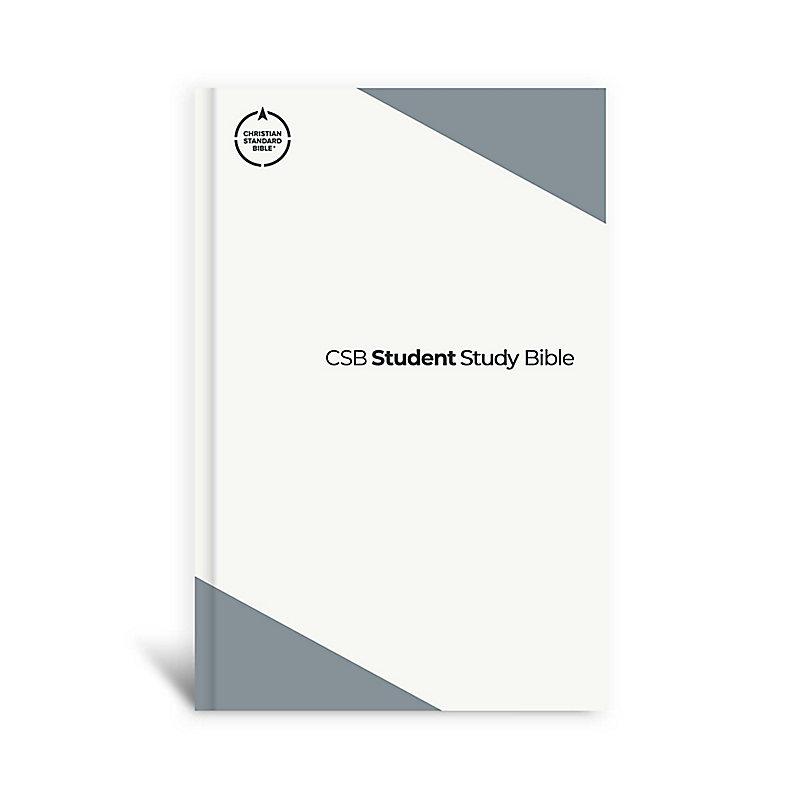 CSB Student Study Bible, Slate Hardcover