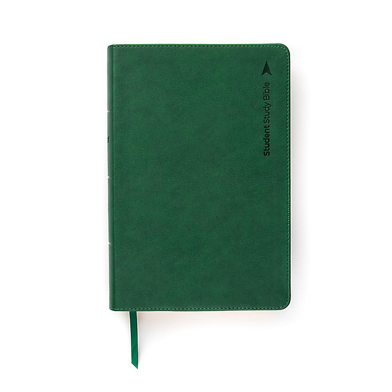 CSB Student Study Bible, Emerald Leathertouch