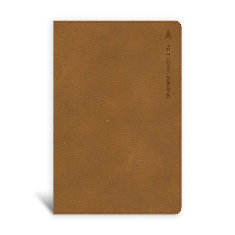 CSB Student Study Bible, Ginger Leathertouch