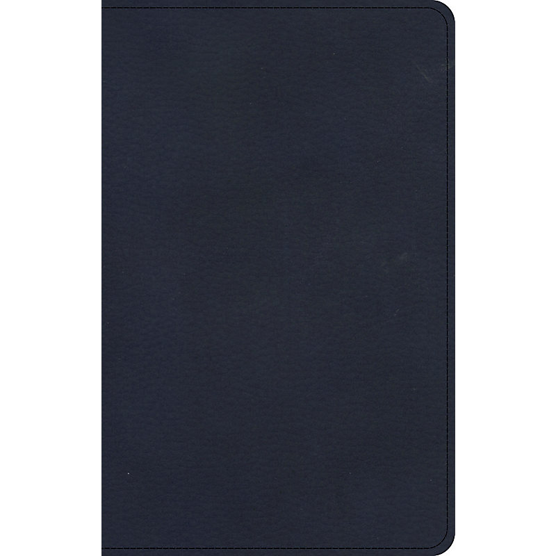KJV Personal Size Bible, Navy LeatherTouch