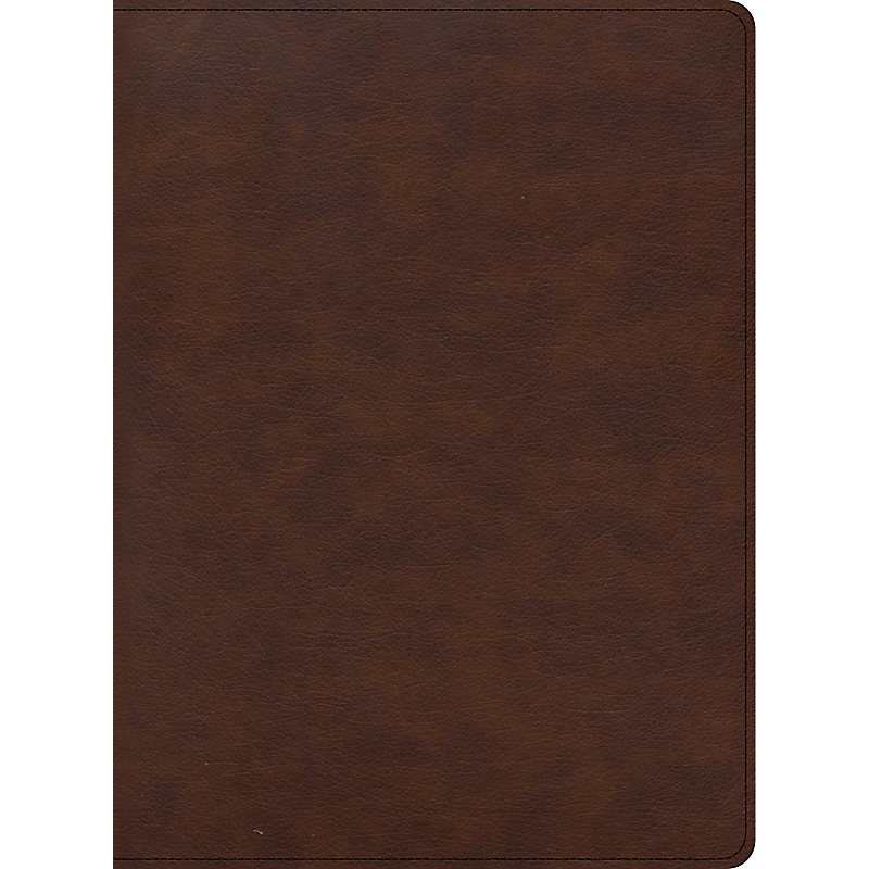 CSB Apologetics Study Bible for Students, Brown LeatherTouch